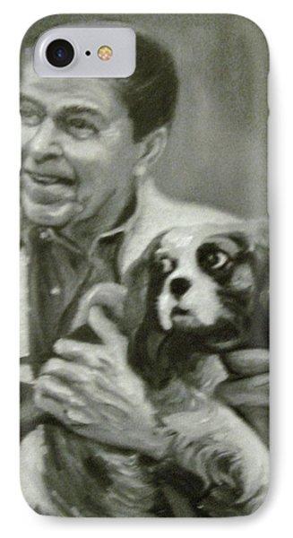 Reagan And Rex IPhone Case by Martha Suhocke