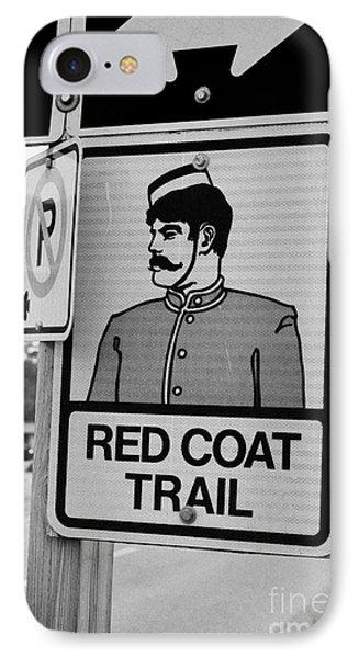 red coat trail highway 35 weyburn Saskatchewan Canada IPhone Case by Joe Fox