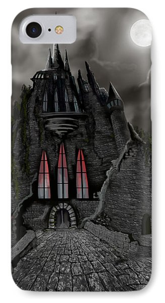 Red Death Tower IPhone Case