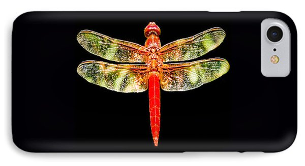 Red Dragonfly Small IPhone Case