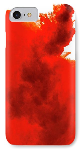 Red Liquid IPhone Case by Science Photo Library