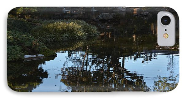 Reflection In The Pond IPhone Case