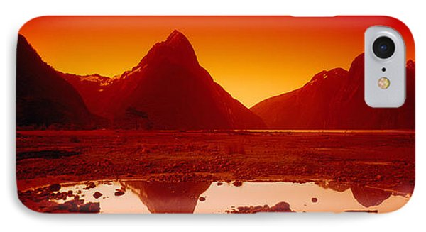 Reflection Of Mountains In A Lake IPhone Case