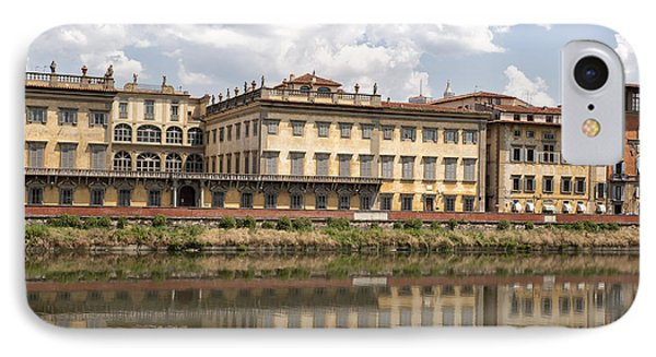 Reflections In The Arno River Phone Case by Melany Sarafis
