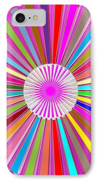 Colorful Signature Art Chakra Round Mandala By Navinjoshi At Fineartamerica.com Rare Fineart Images  IPhone Case by Navin Joshi