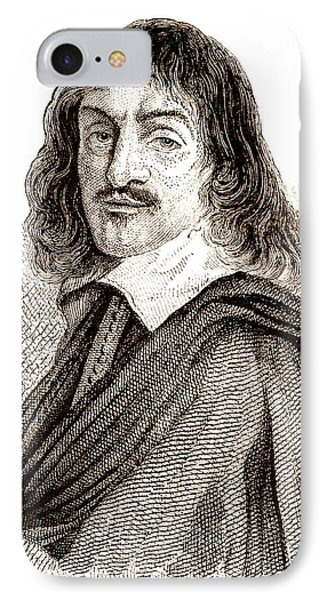 Rene Descartes IPhone Case by Science Photo Library