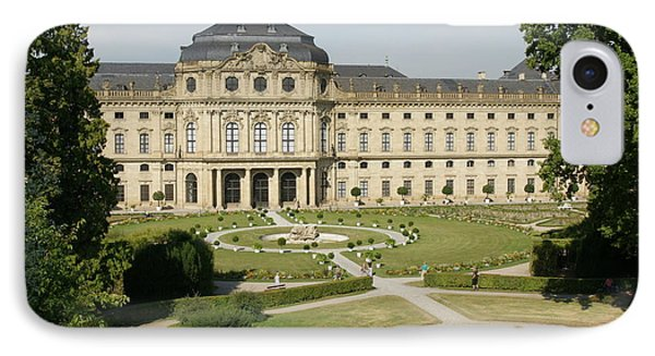 IPhone Case featuring the photograph Residenz Wurzburg  by Christian Zesewitz