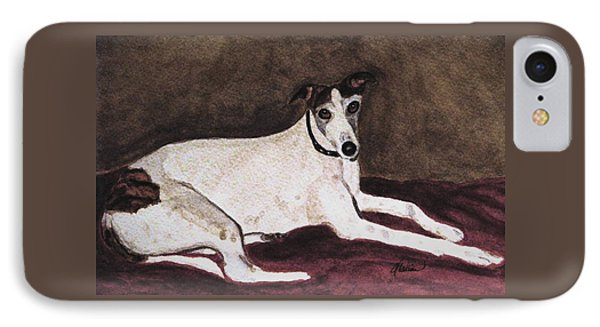 Resting Gracefully IPhone Case by Angela Davies