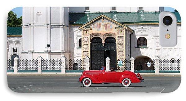 Retro Car Phone Case by Evgeny Pisarev