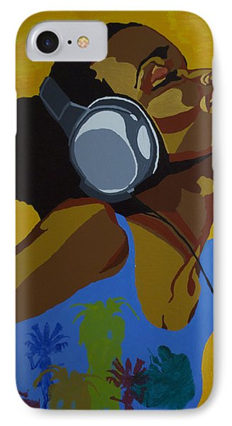 IPhone Case featuring the painting Rhythms In The Sun by Rachel Natalie Rawlins
