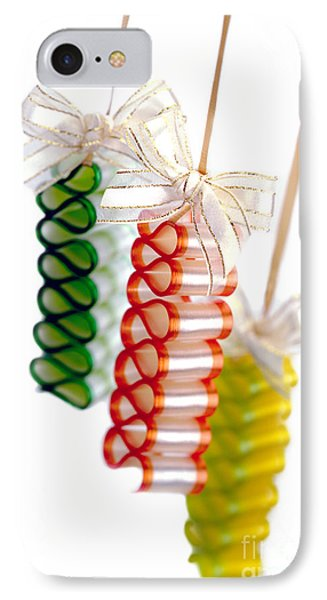 Ribbon Candy IPhone Case by Iris Richardson