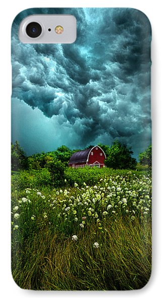 Riding The Storm Out IPhone Case by Phil Koch