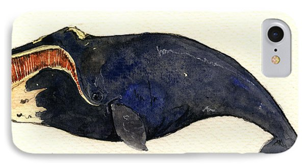 Right Whale IPhone Case