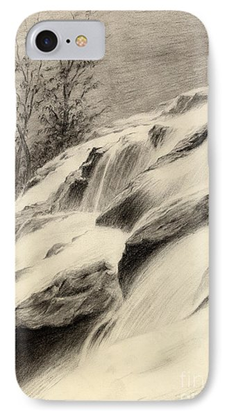River Stream IPhone Case by Hailey E Herrera