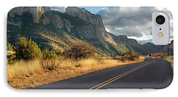Road To Portal, Arizona IPhone Case by Susan Degginger