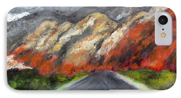 Road To Redrock IPhone Case