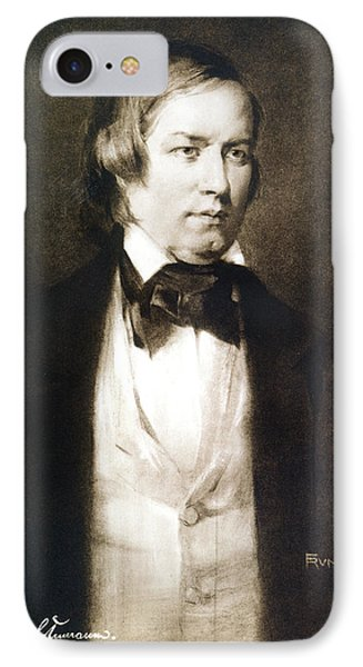 Robert Schumann (1810-1856) IPhone Case by Granger