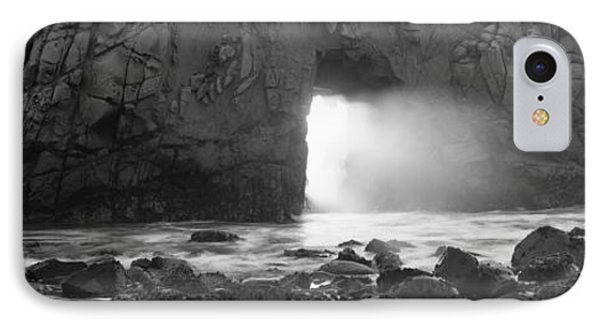 Rock Formation On The Beach, Pfeiffer IPhone Case by Panoramic Images