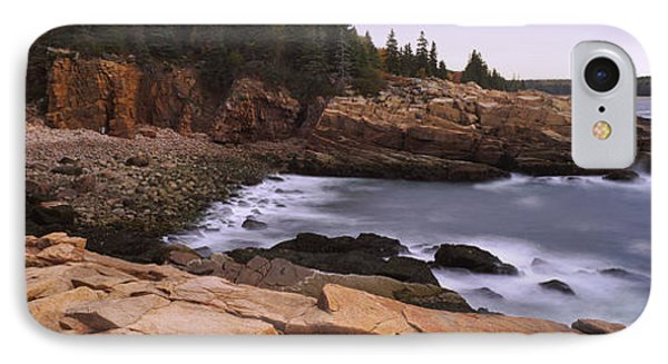 Rock Formations At The Coast, Monument IPhone Case by Panoramic Images