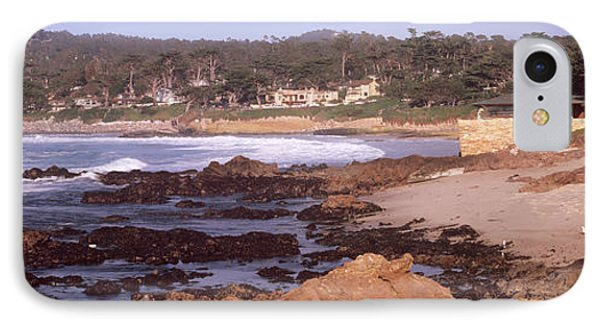 Rock Formations In The Sea, Carmel IPhone Case