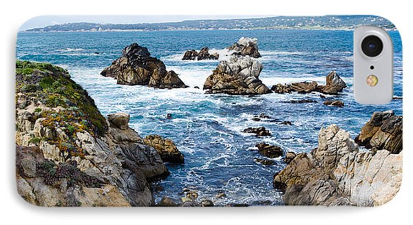 Rock Formations On The Coast, Point IPhone Case