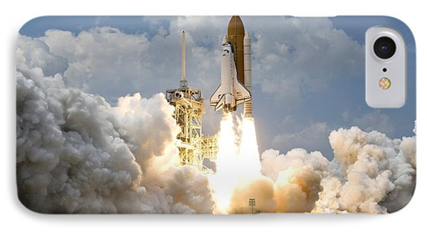 Rocket Launch IPhone Case by Celestial Images