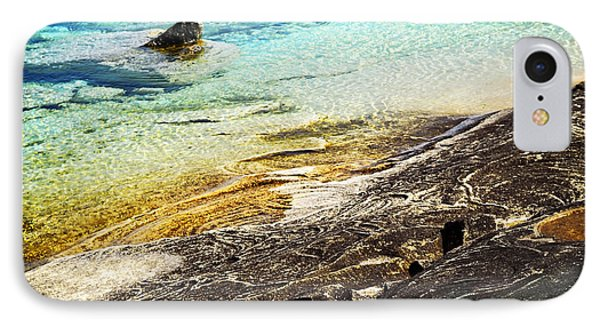 Rocks And Clear Water Abstract Phone Case by Elena Elisseeva