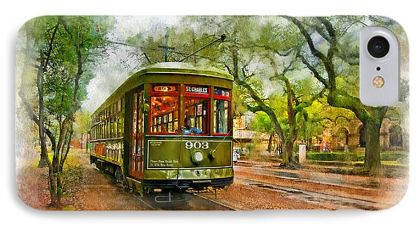 Rollin' Thru New Orleans 2 IPhone Case by Steve Harrington