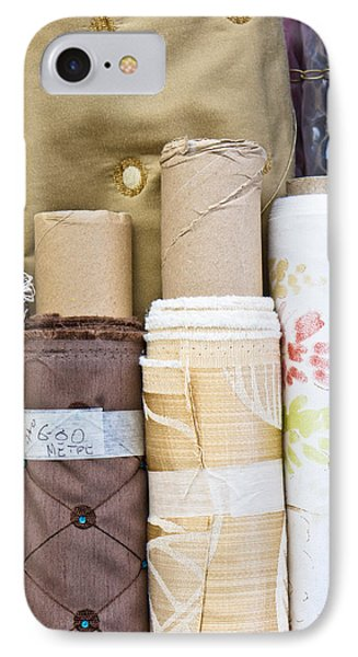 Rolls Of Fabric  IPhone Case by Tom Gowanlock