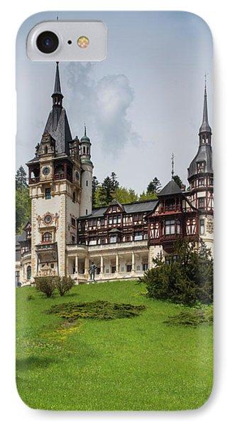 Pele iPhone 7 Case - Romania, Transylvania, Sinaia, Peles by Walter Bibikow