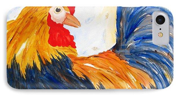 Rooster IPhone Case by Carlin Blahnik