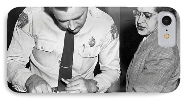 Rosa Parks Gets Fingerprinted IPhone Case by Underwood Archives