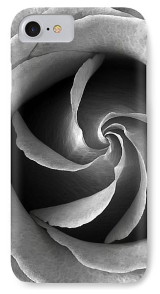 Rose Center IPhone Case by Jim Hughes
