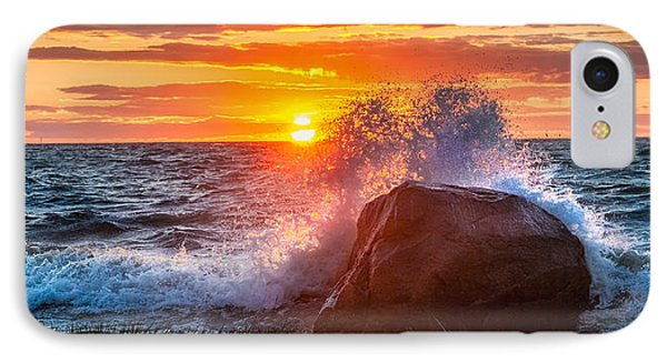 Rough Sea IPhone Case by Bill Wakeley