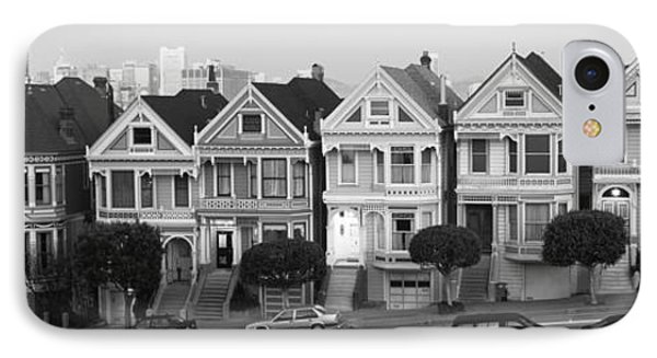 Row Houses In A City, Postcard Row, The IPhone Case