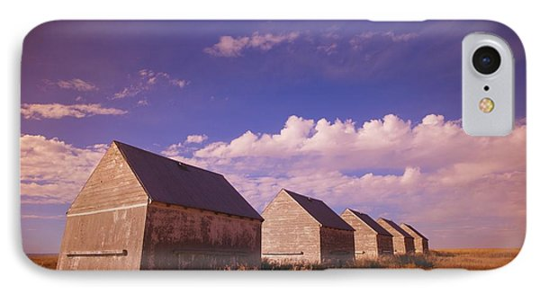 Row Of Old Farm Houses Phone Case by Kelly Redinger