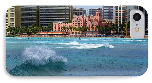 Royal Hawaiian Hotel Phone Case by Kevin Smith