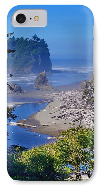 Ruby Beach IPhone Case by Ansel Price