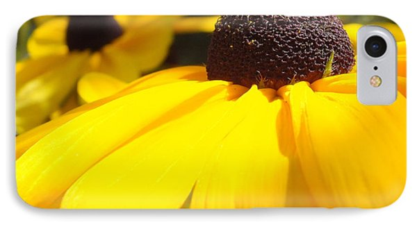 IPhone Case featuring the photograph Rudbeckia Up Close by Gene Cyr