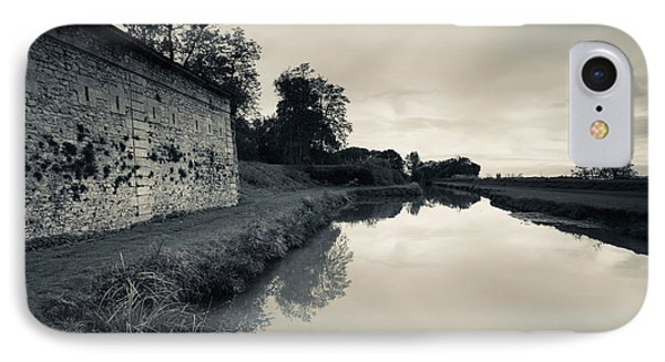 Ruins Of River Fort Designed By Vauban IPhone Case
