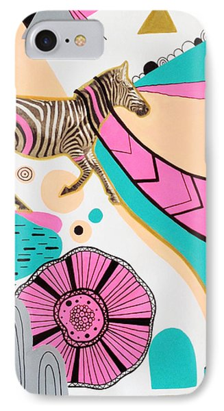 Running High Phone Case by Susan Claire