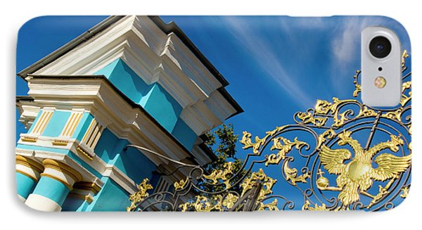 Russia, Pushkin Gate Detail And Support IPhone Case by Jaynes Gallery
