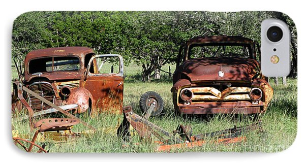 Rust In Peace No. 3 IPhone Case by Susan Schroeder