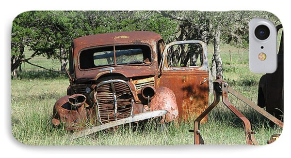 Rust In Peace No. 5 IPhone Case by Susan Schroeder
