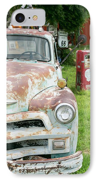 Rusted Antique Automobile, Tucumcari IPhone Case by Julien Mcroberts