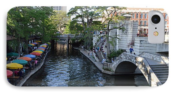 IPhone Case featuring the photograph Sa River Walk 2 by Shawn Marlow