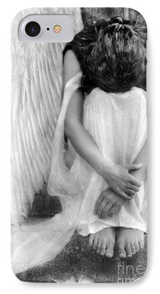 Sad Angel Woman IPhone Case