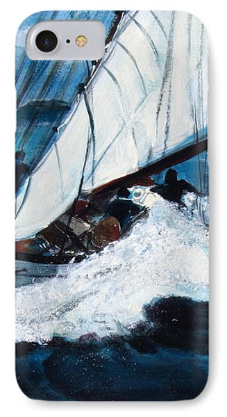 Sailing IPhone Case by Betty Pieper