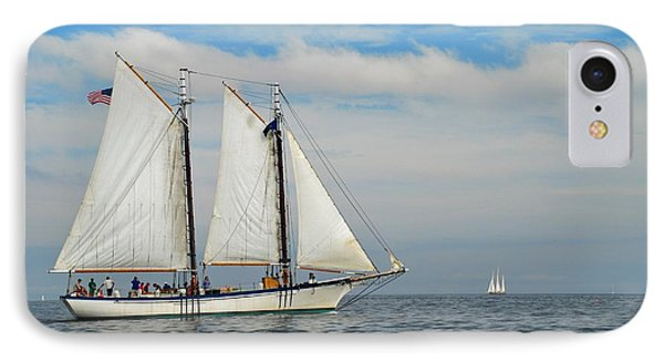 Sailing The Open Seas Phone Case by Allen Beatty