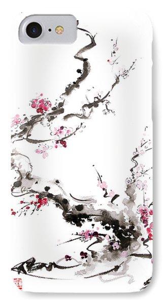 Sakura Spring Blossom. IPhone Case by Mariusz Szmerdt